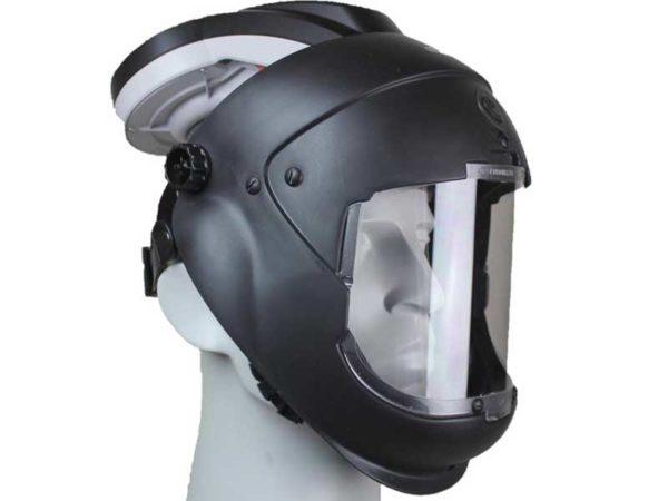 Volgelaatsmasker met luchttoevoer glashelder – Arbin Safety Kite Opti